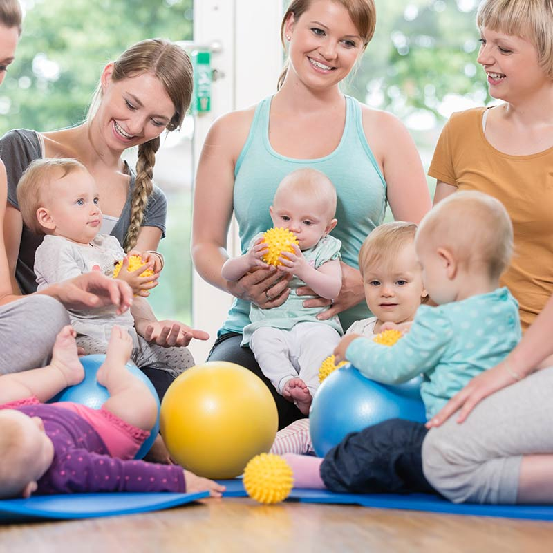Group Baby Massage Classes with The Nurturing Connection in Brisbane